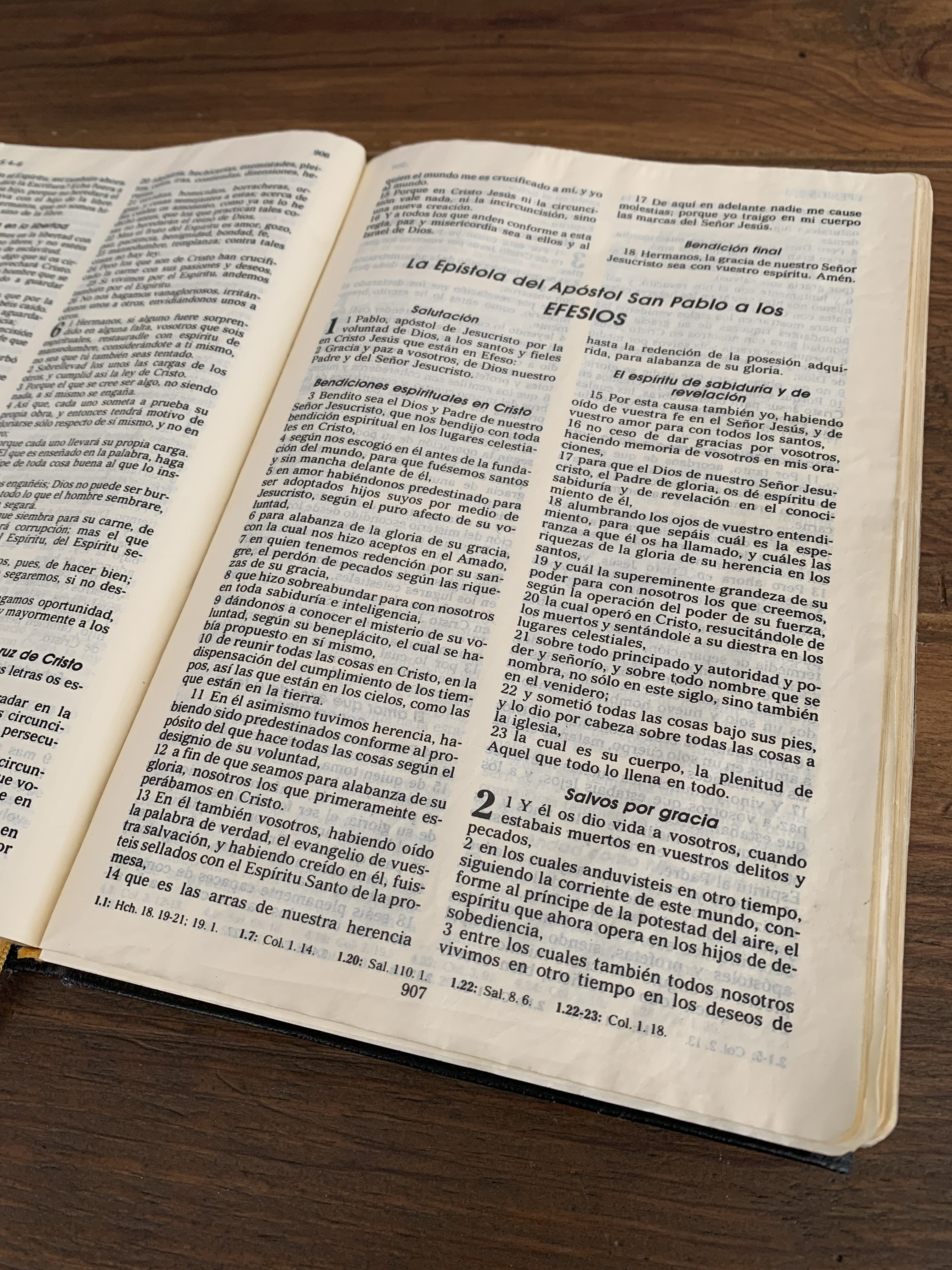 Biblia español